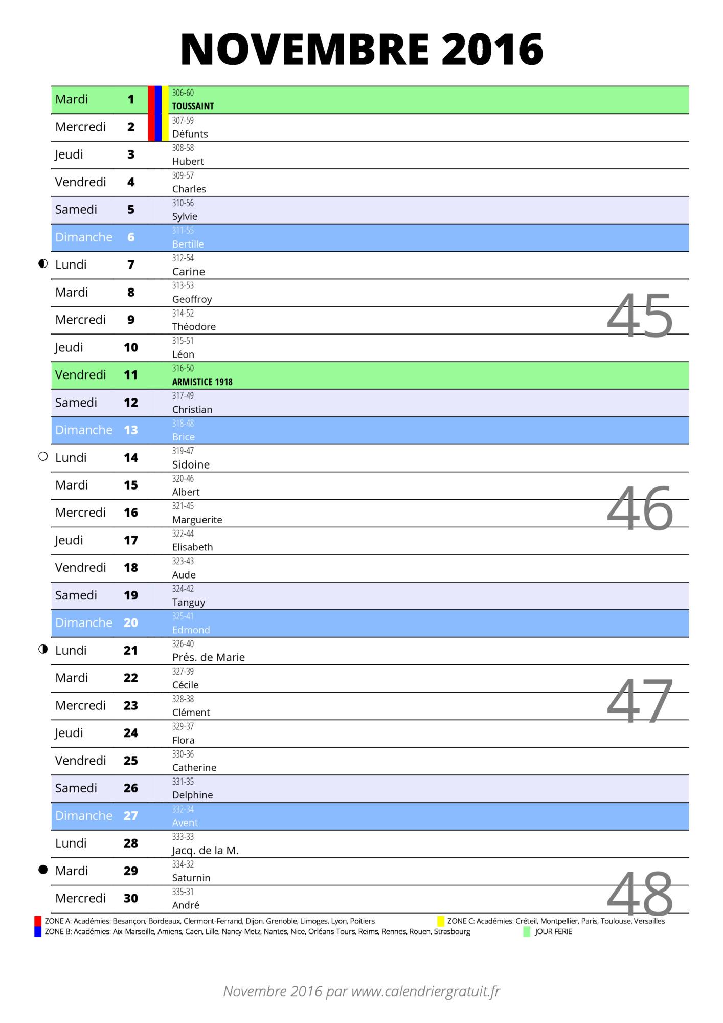 la defense calendrier 2016 calendrier semestriel année 2016 ave guide ...
